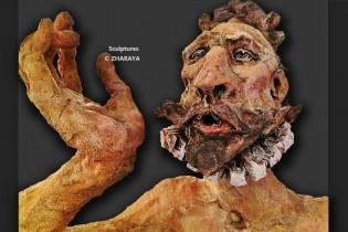 Description: Sculpture Don Quichotte Auteur: Eugéniya Zharaya