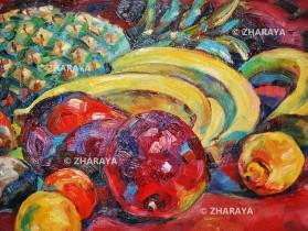 Description: Table-de-fruits-Mango Auteur: Eugeniya ZHARAYA