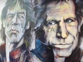 Description: The-Rolling-Stones_Mick-Jagger-and-Keith-Richards Auteur: by ZHARAYA